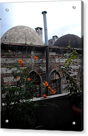 Rustem Pasha Mosque Acrylic Print by Jacqueline M Lewis