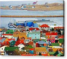 Saint Pierre Et Miquelon Acrylic Print