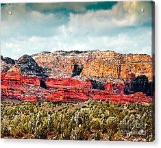 Secret Mountain Wilderness Sedona Arizona Acrylic Print