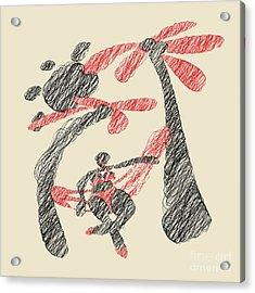 Siesta  Acrylic Print