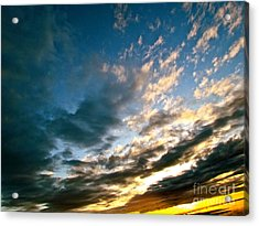 Sky Sings Acrylic Print by Q's House of Art ArtandFinePhotography