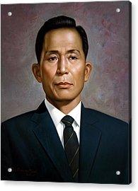 South Korea's President Park Chung-hee Acrylic Print