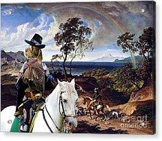 Spinone Italiano - Italian Spinone Art Canvas Print Acrylic Print