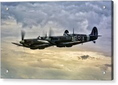 Spitfires Double Trouble Acrylic Print