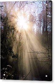 Sunrise Of Faith Acrylic Print