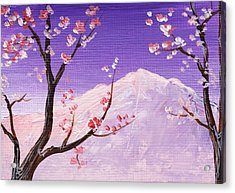 Spring Will Come Acrylic Print by Anastasiya Malakhova
