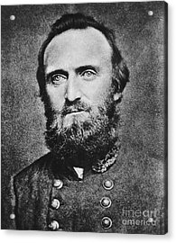 Stonewall Jackson Acrylic Print by Anonymous