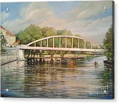 Tartu Arch Bridge Acrylic Print