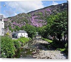 The Afon Glaslyn At Beddgelert Acrylic Print