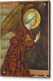The Archangel Gabriel Acrylic Print by Tommaso Masolino da Panicale