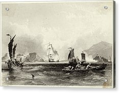 The British Fleet Forces A  Passage Acrylic Print by Mary Evans Picture Library