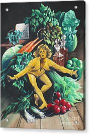The Dancing Lemon Acrylic Print