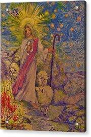 The  Good  Shepherd Acrylic Print by Beth Arroyo