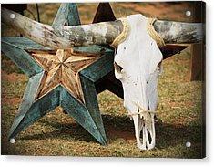 The Heart Of Texas Acrylic Print