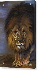 The Lion King Acrylic Print by Andrzej Szczerski