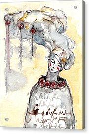 ' The Listeners - No 1 '  Acrylic Print by Milliande Demetriou