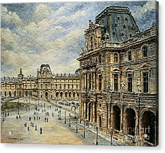 The Louvre Museum Acrylic Print