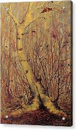 The  Loving  Tree Acrylic Print