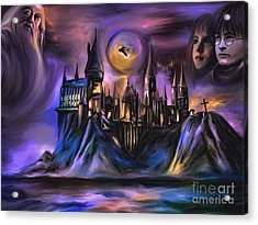 The Magic Castle I. Acrylic Print