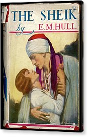 'the Sheik'  By E M Hull       Date Acrylic Print by Mary Evans Picture Library