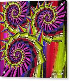 Thorns Acrylic Print by Soumya Bouchachi