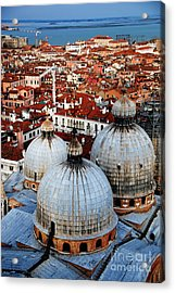 Venice In Glory - Vertical Acrylic Print by Jacqueline M Lewis