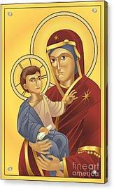 Virgin Mary And Jesus Christ Acrylic Print