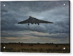 Vulcan Bomber Acrylic Print
