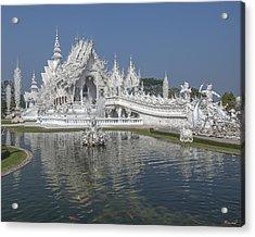 Wat Rong Khun Ubosot Dthcr0001 Acrylic Print