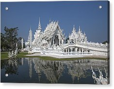 Wat Rong Khun Ubosot Dthcr0002 Acrylic Print