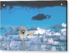 Water Windmill Acrylic Print