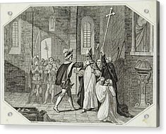 William I Arrests Odo, Bishop Acrylic Print by Mary Evans Picture Library