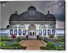001 Buffal And Erie County Botanical Gardens Acrylic Print by Michael Frank Jr