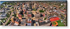 0023a Visual Highs Of The Queen City Acrylic Print by Michael Frank Jr