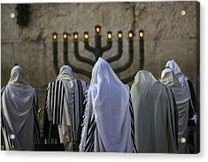 007 Jerusalem Acrylic Print by Alex Kolomoisky