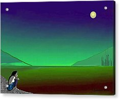 011 - Moon River Acrylic Print