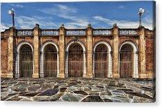 Five Gated Arches - Lakeland Florida Acrylic Print
