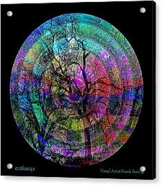Acrylic Print featuring the digital art #012620142 by Visual Artist Frank Bonilla
