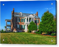 Carnton Plantation Mansion - 1826 Acrylic Print by Frank J Benz
