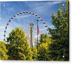 Atlanta Ferris Wheel Acrylic Print