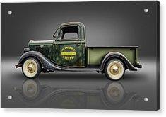 1935 Ford Pickup - Moonshine Express Acrylic Print