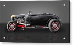 1930 Ford Street Rod Acrylic Print by Frank J Benz