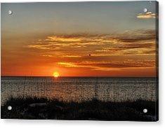 Warm Glow Of The Sun Acrylic Print by Frank J Benz