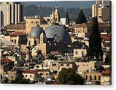 015 Jerusalem Acrylic Print by Alex Kolomoisky