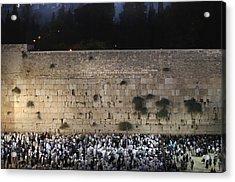 022 Jerusalem Acrylic Print by Alex Kolomoisky
