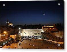 023 Jerusalem Acrylic Print by Alex Kolomoisky