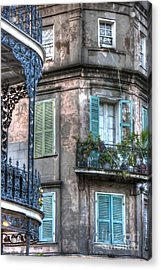 0254 French Quarter 10 - New Orleans Acrylic Print by Steve Sturgill