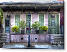 0267 French Quarter 5 - New Orleans Acrylic Print