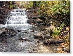 0278 South Elgin Waterfall Acrylic Print