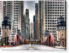 0295b Lasalle Street Bridge Acrylic Print